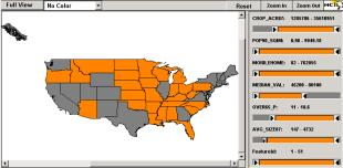 Novel uses of Dynamic HTML for Online Queries: Maps and