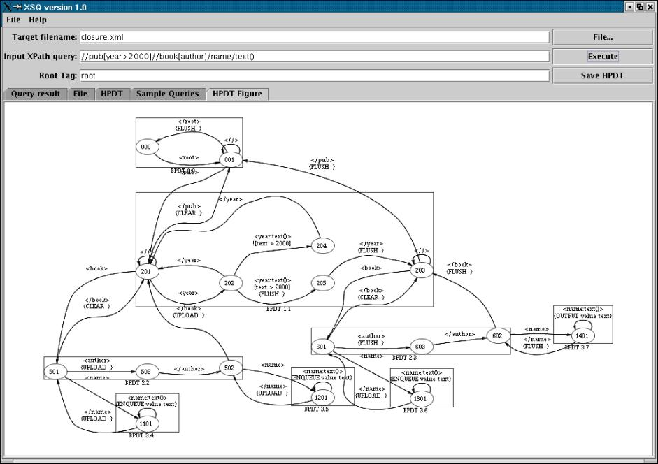 XSQ: A Streaming XPath Engine