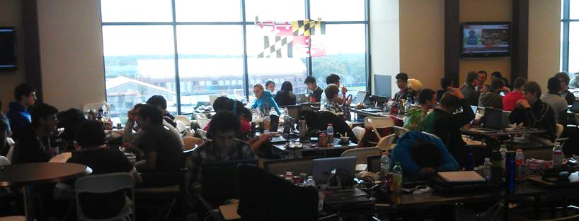 photo of MLH competition in progress