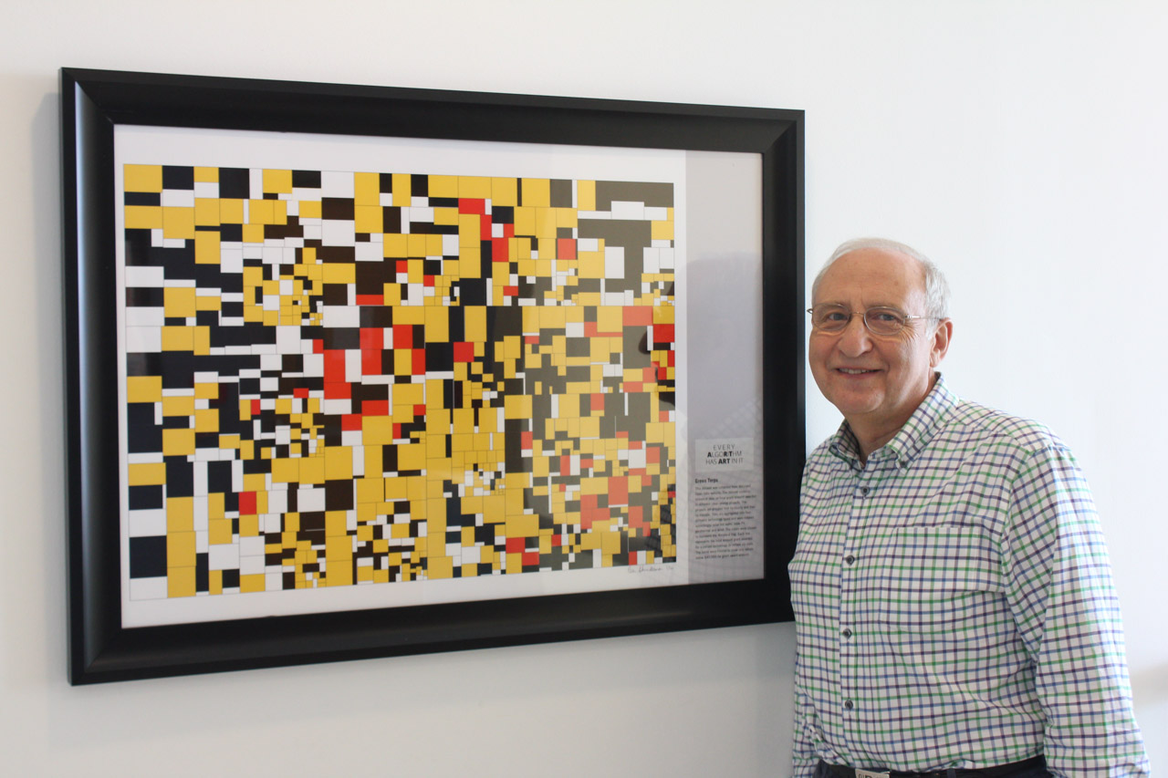 Descriptive image for Treemap art project featured at the Keck Center