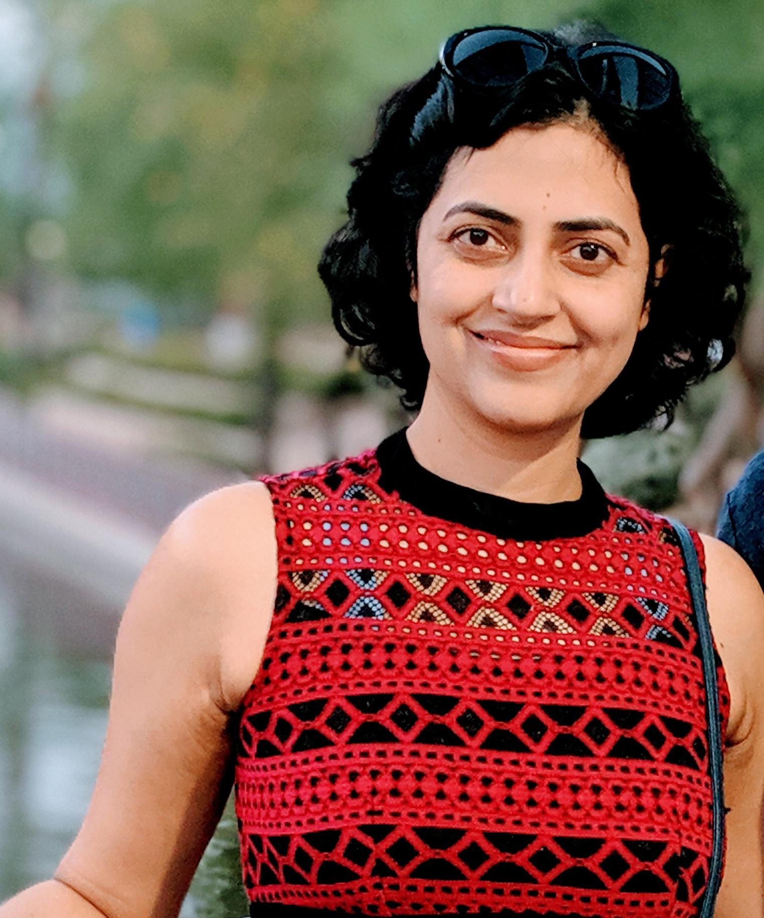 Descriptive image for Alumna Barna Saha (Ph.D,'11) receives the  Presidential Early CAREER Award (PECASE) 2019