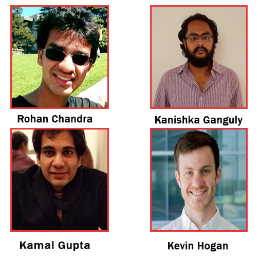 Descriptive image for Four Ph.D. Students Receive the UMD Graduate Student Research Fellowship for Summer 2020