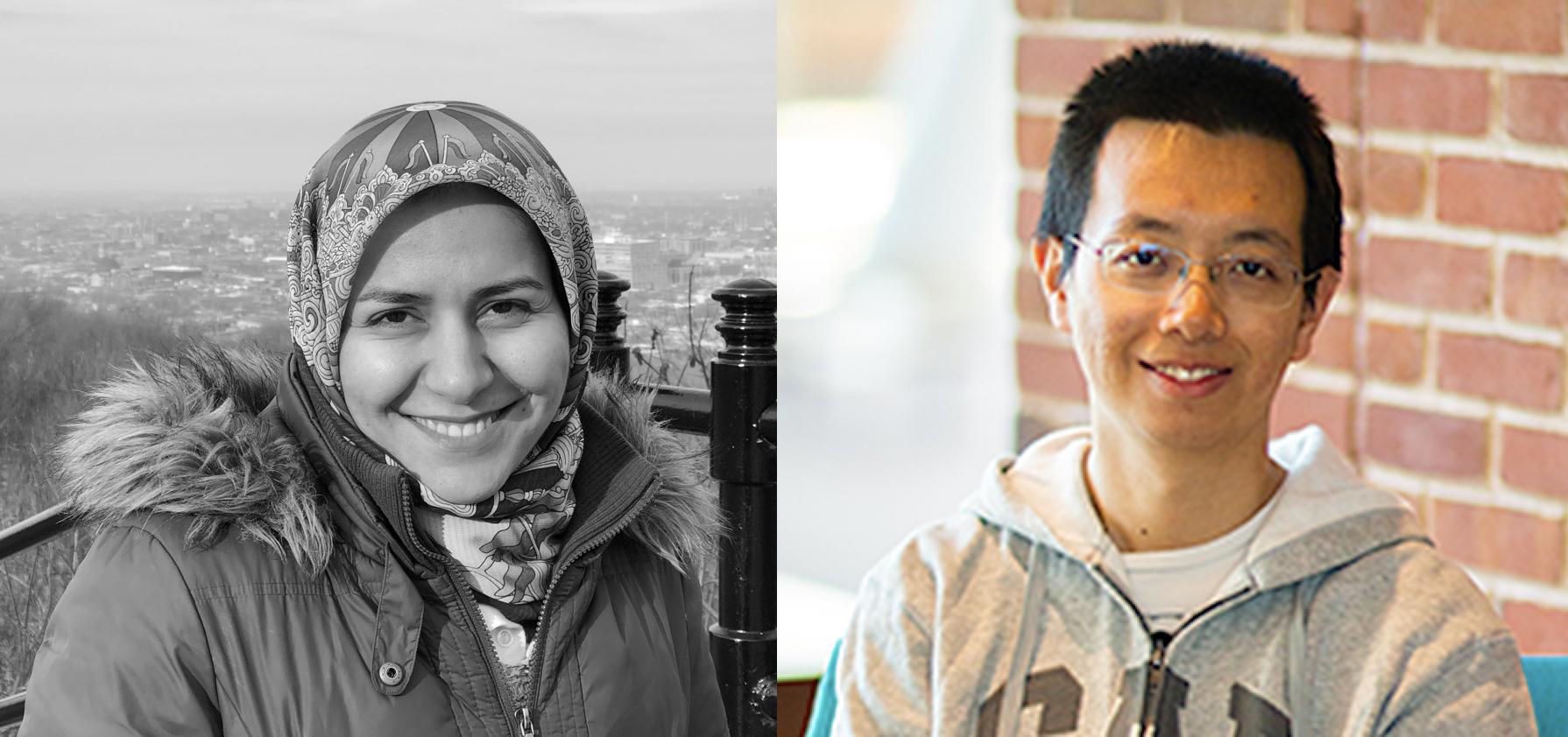 Descriptive image for Fatemeh Almodaresi and Yuan Su Receive the Larry S. Davis Doctoral Dissertation Award