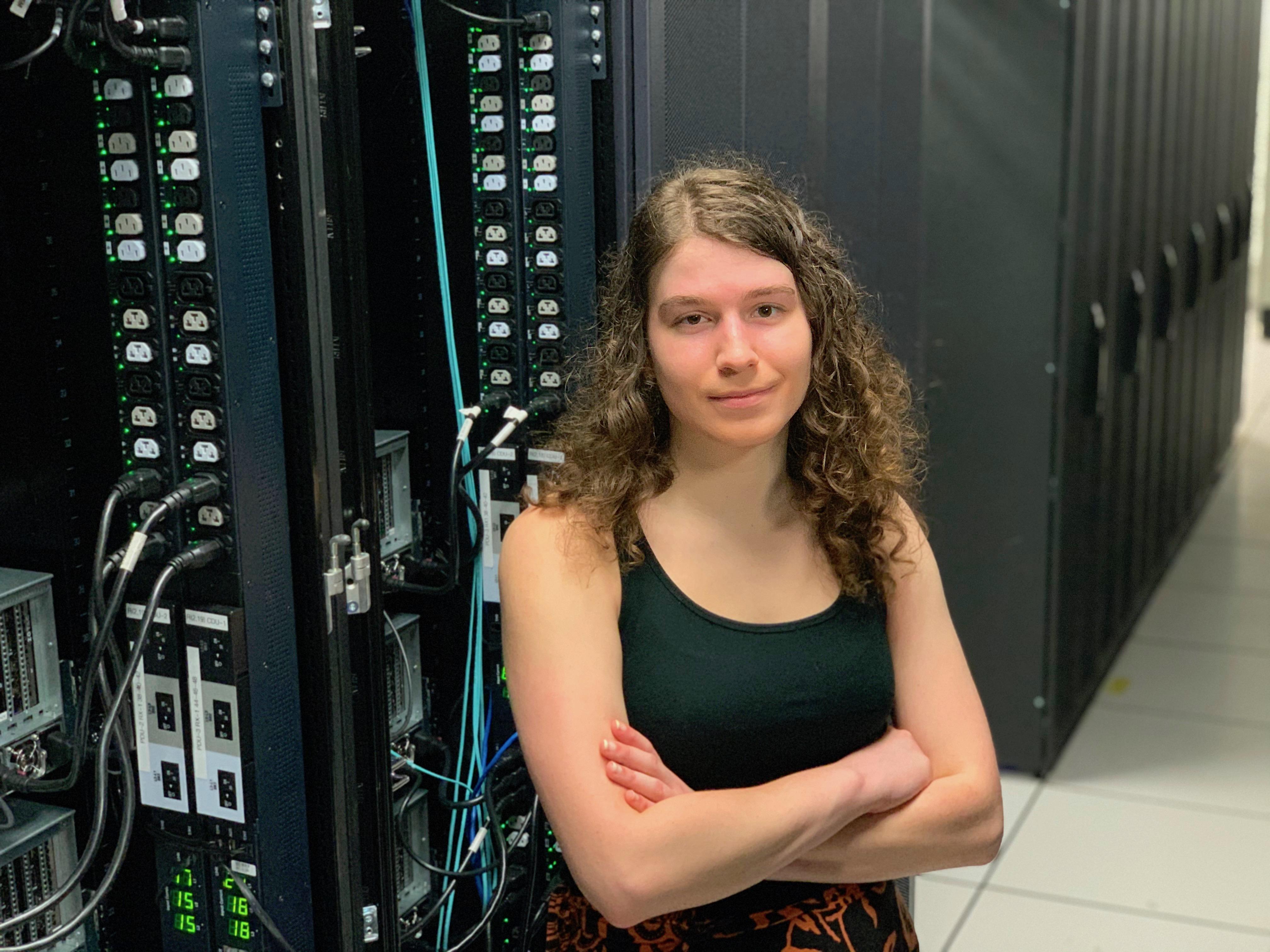 Descriptive image for CS Graduate Student Awarded DOE Computational Science Fellowship