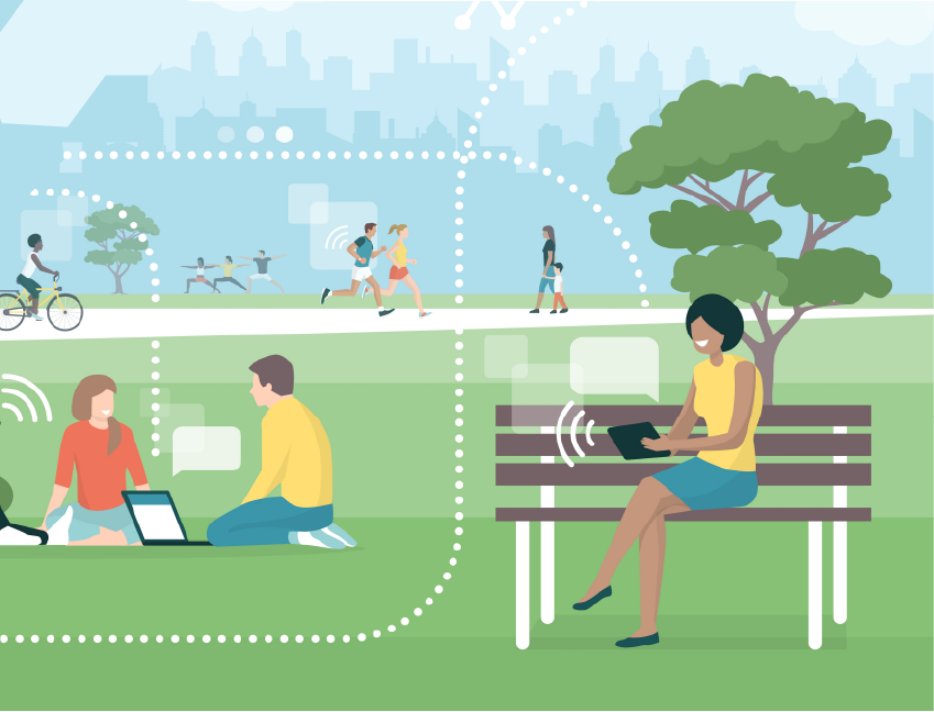 Descriptive image for Roy Receives $150K NSF Award to Expand Wi-Fi Access in Regional Parks