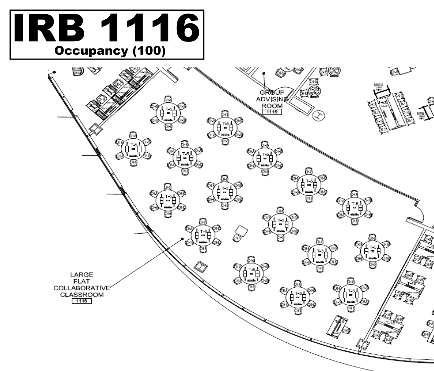 IRB1116 floorplan