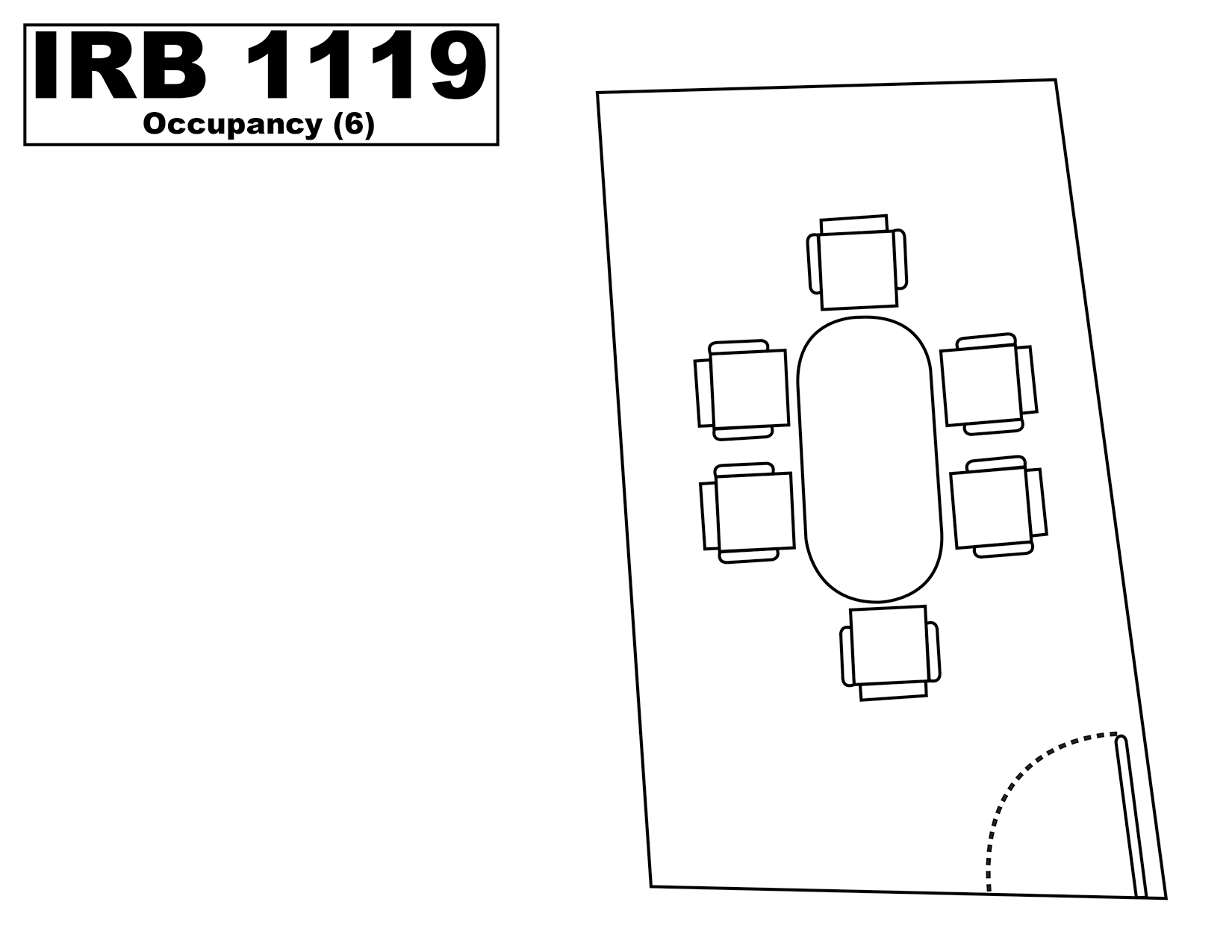 IRB1119 floorplan