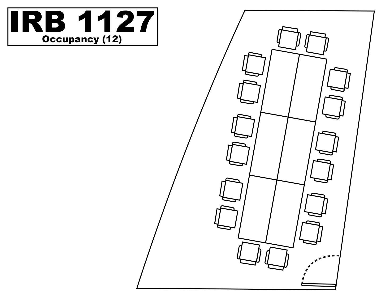 IRB1127 floorplan