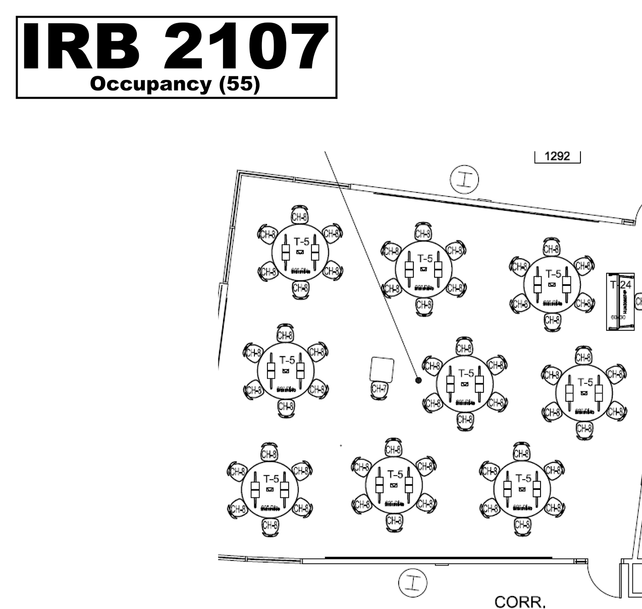 IRB2107 floorplan