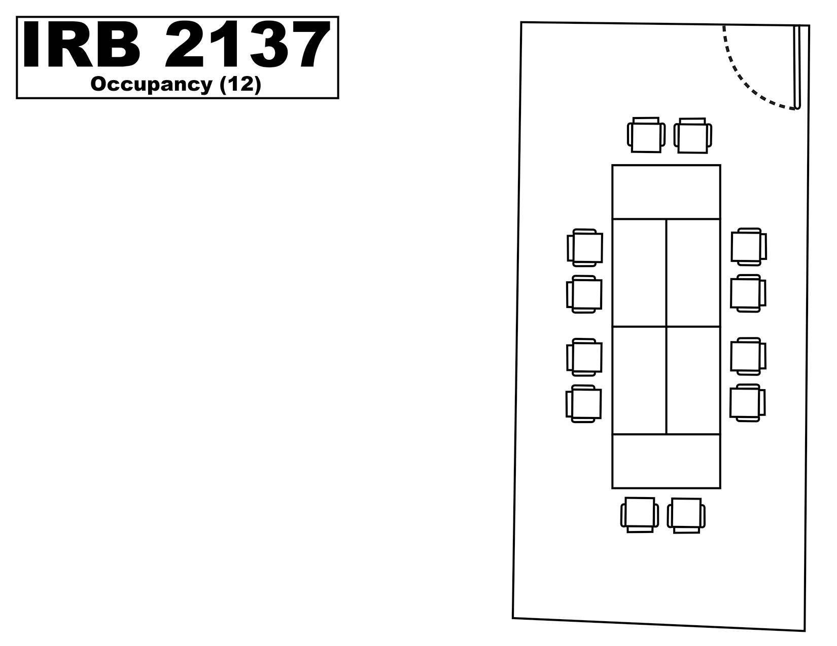 IRB2137 floorplan