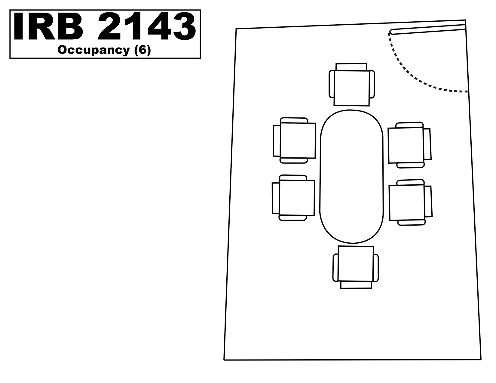 IRB2143 floorplan