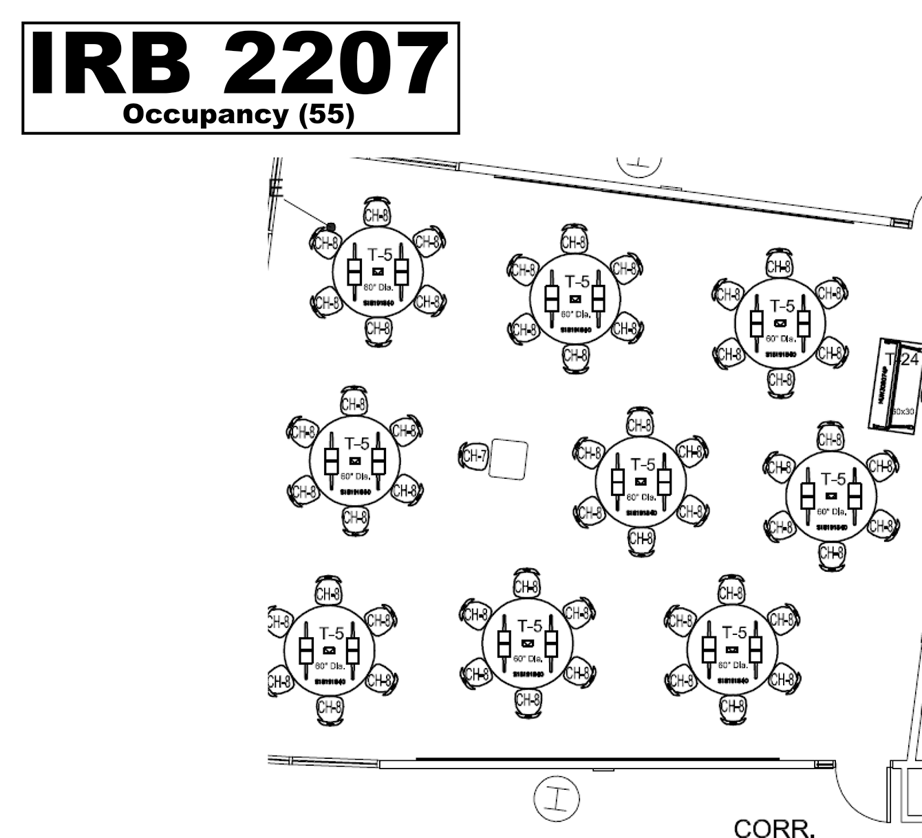 IRB2207 floorplan