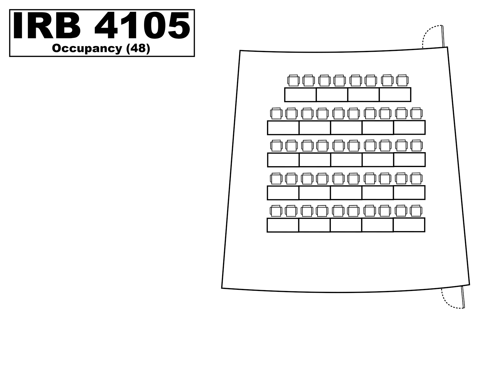 IRB4105 floorplan