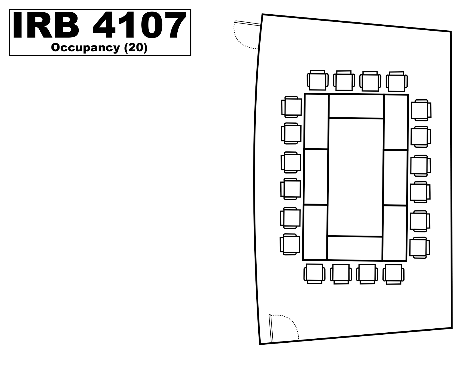IRB4107 floorplan