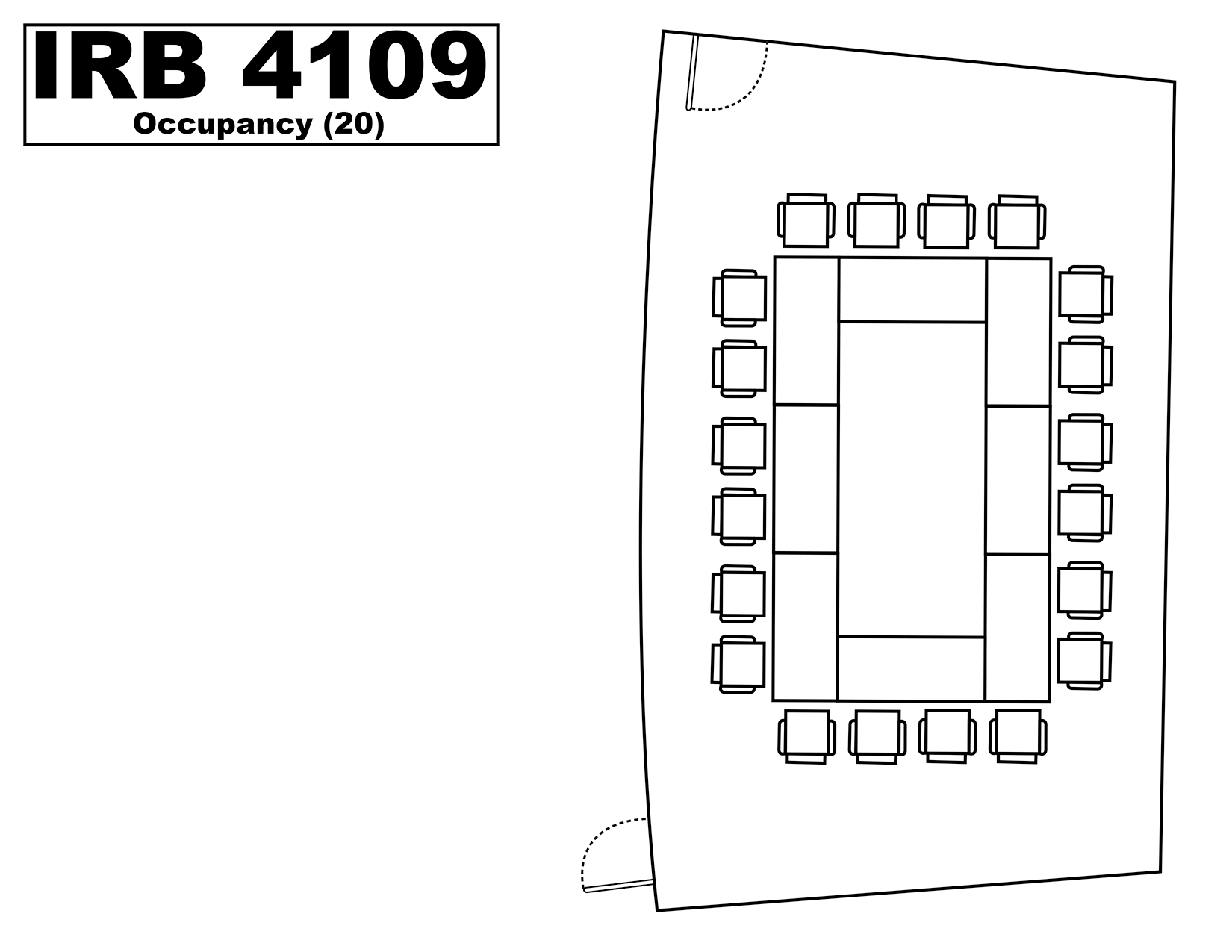 IRB4109 floorplan