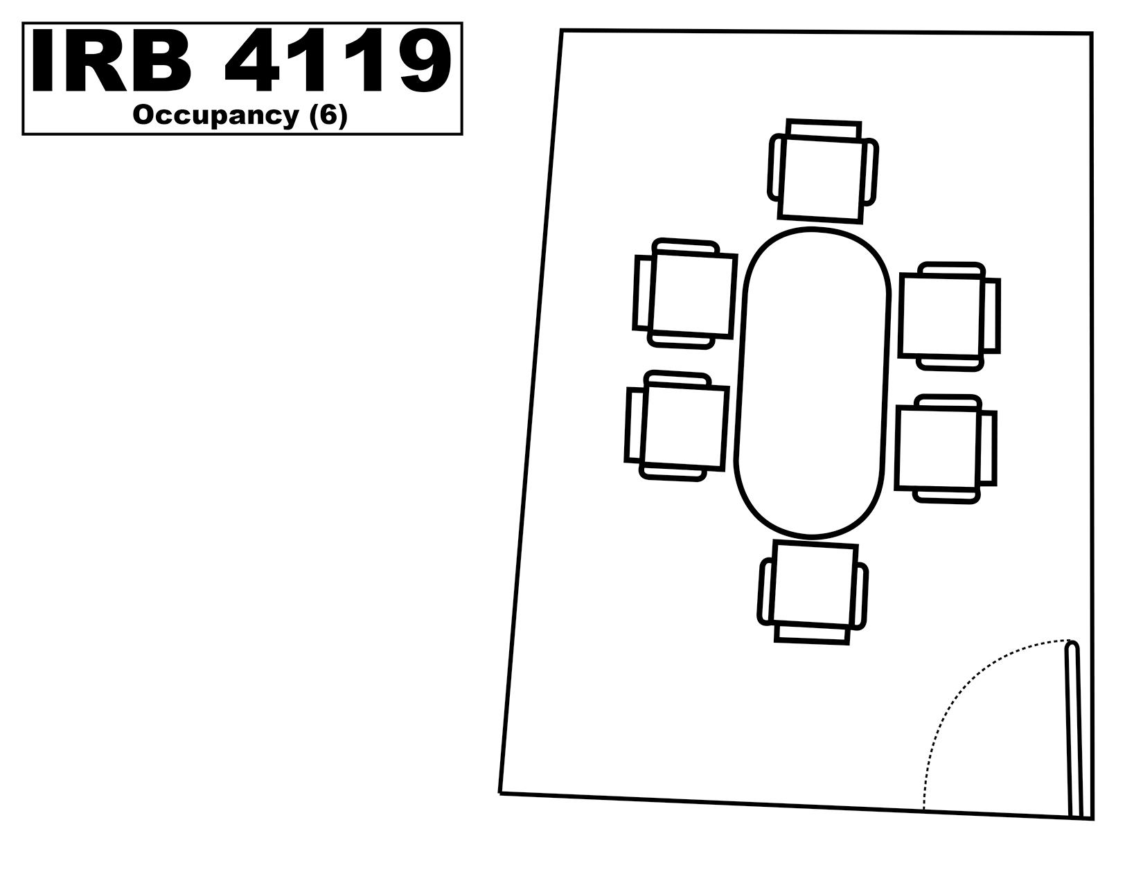 IRB4119 floorplan