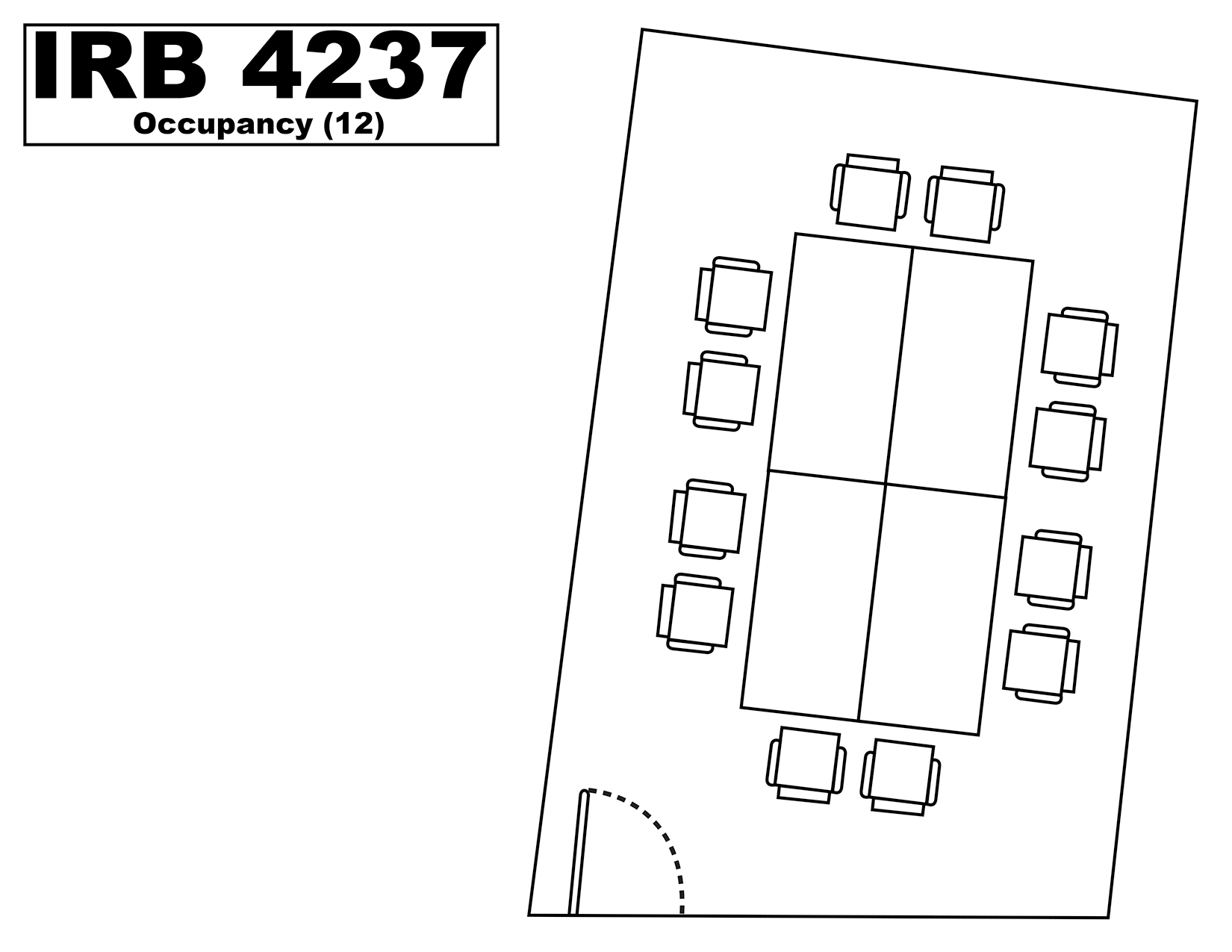 IRB4237 floorplan
