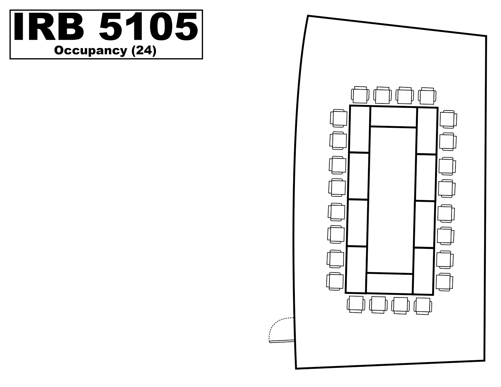 IRB5105 floorplan