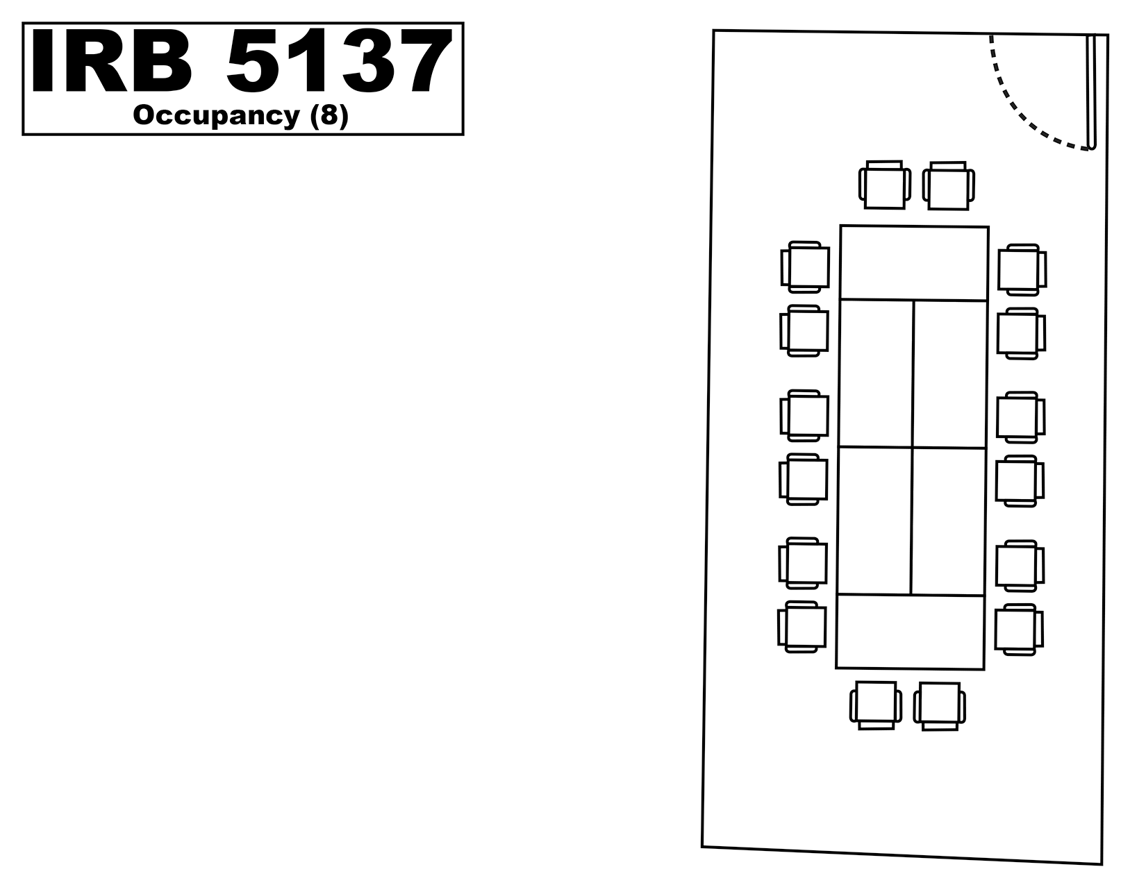 IRB5137 floorplan