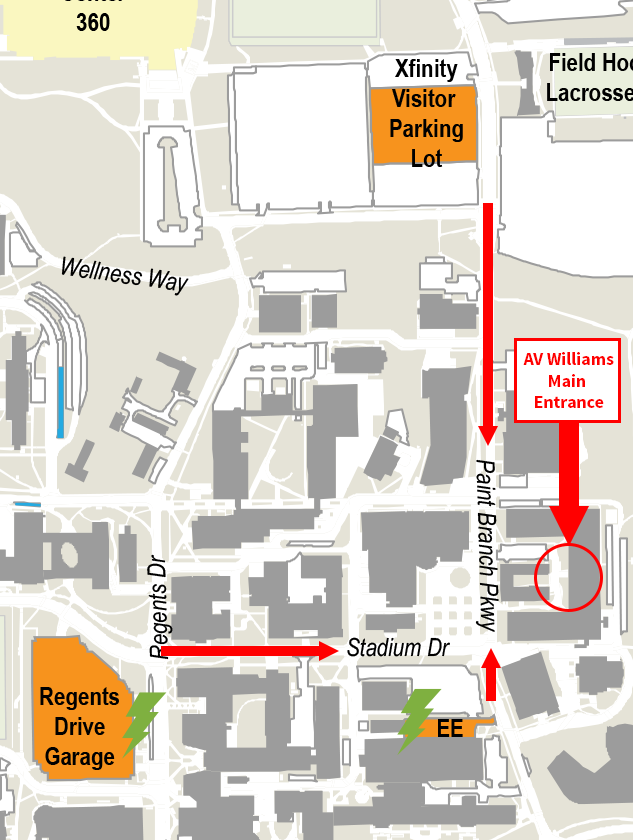 Image of parking map