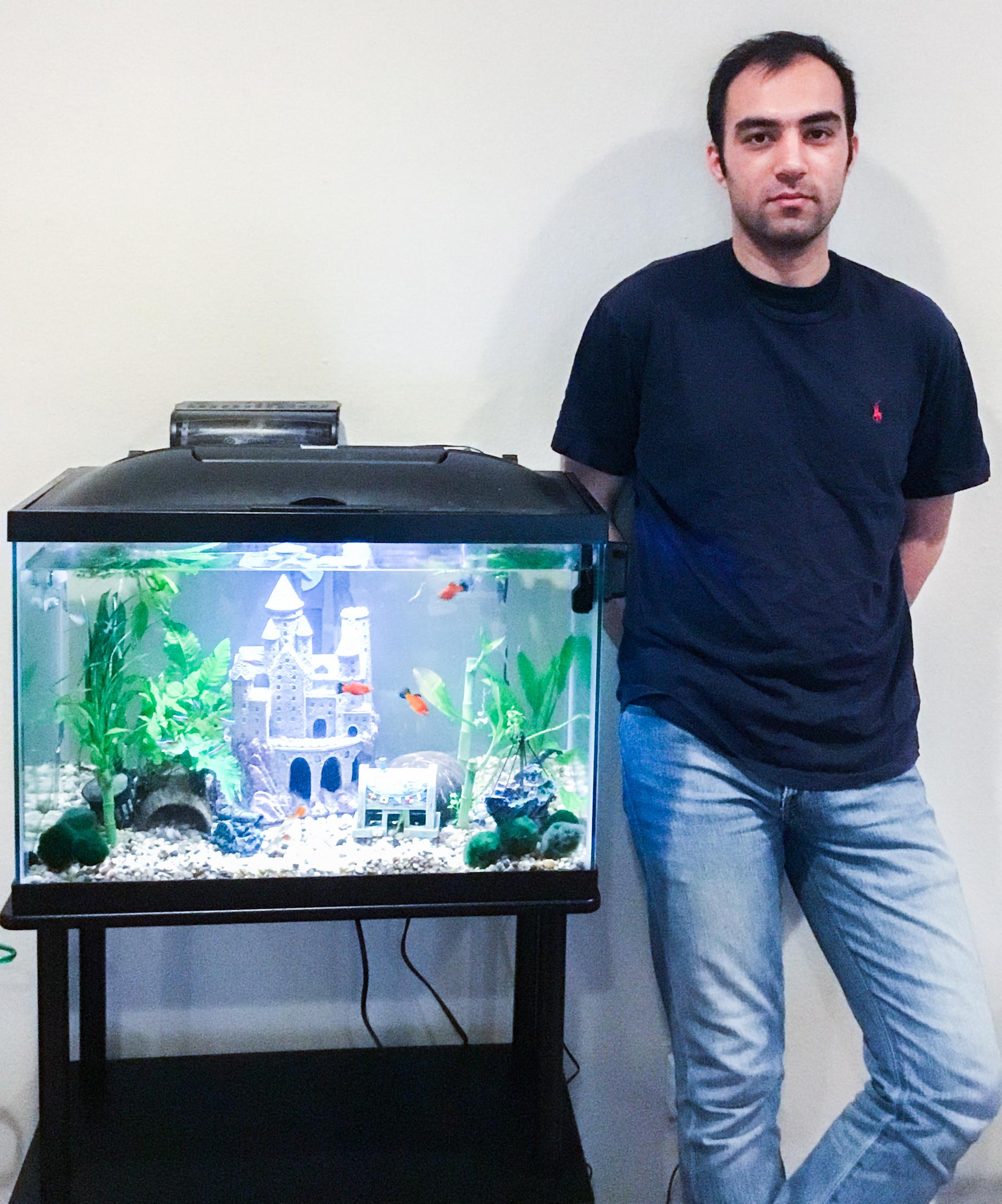 Saeed Seddighin wins fellowship