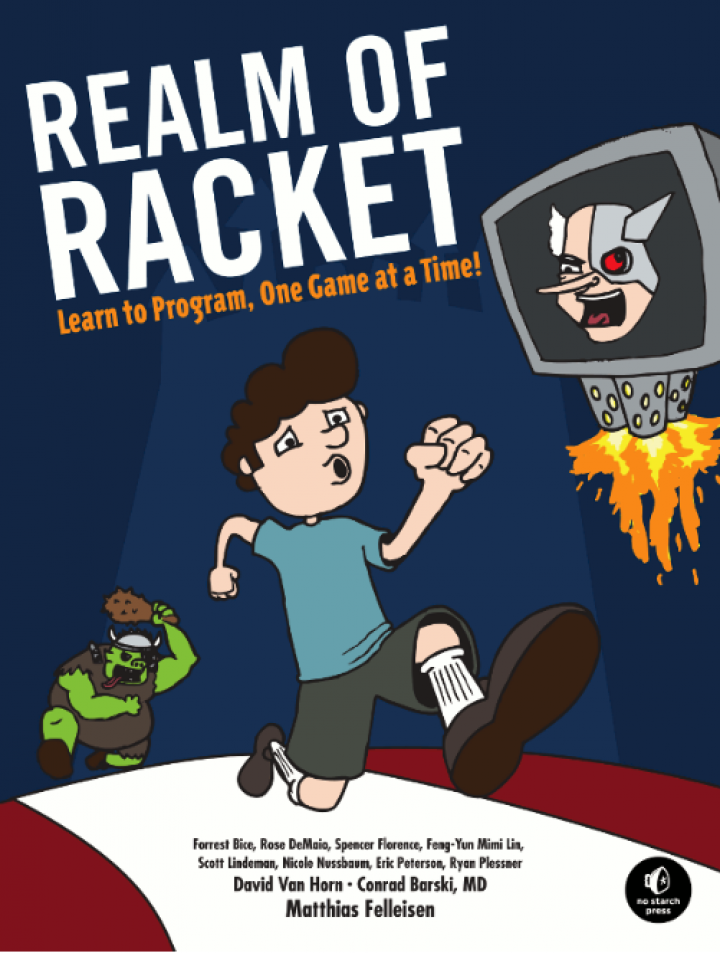 """photo of David Van Horn's """"Realm of Racket"""" selected as 2013 Notable Book in Computing"""