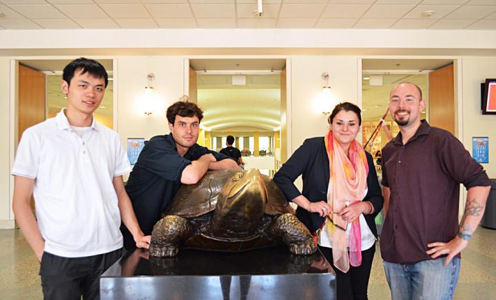 Descriptive Image for CS Graduate Students win 2015 Outstanding Graduate Assistant Awards