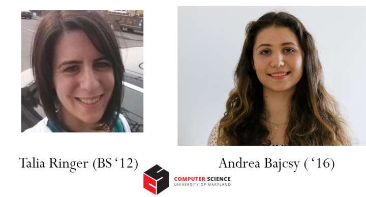 Descriptive image for  Alumna Talia Ringer and Senior Andrea Bajcsy awarded NSF Graduate Fellowships