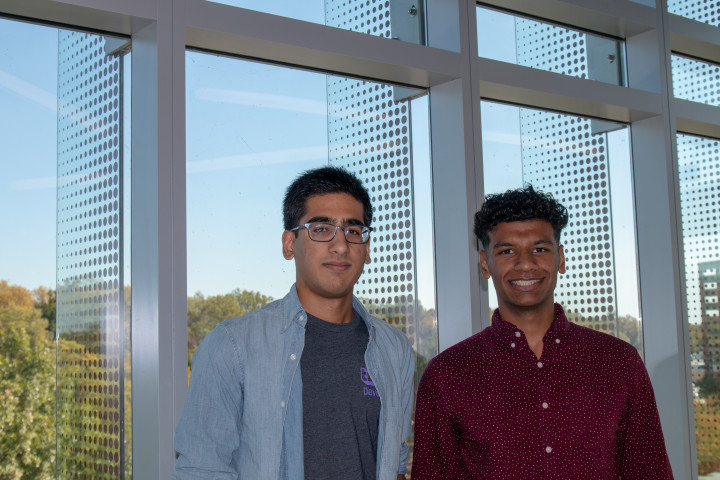 photo of Left-Hassan Syyid, Right- Sandeep Ramesh