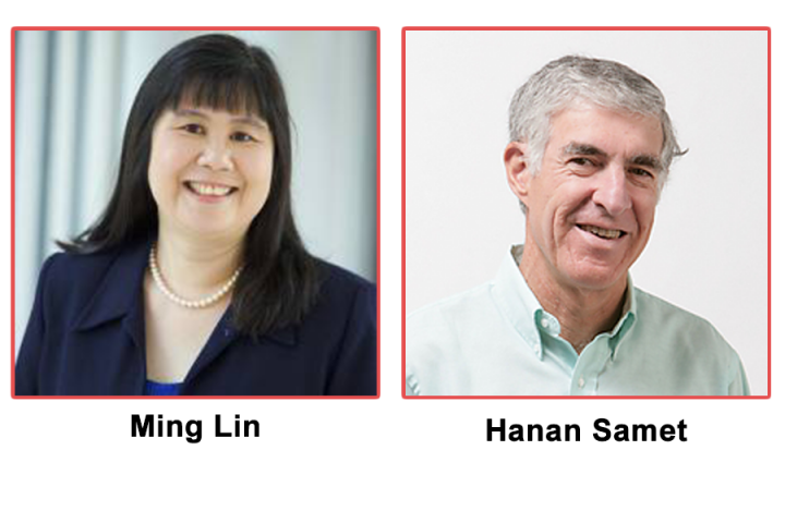 Descriptive image for Ming Lin and Hanan Samet Receive the Distinguished Career in Computer Science Award by the Washington Academy of Sciences