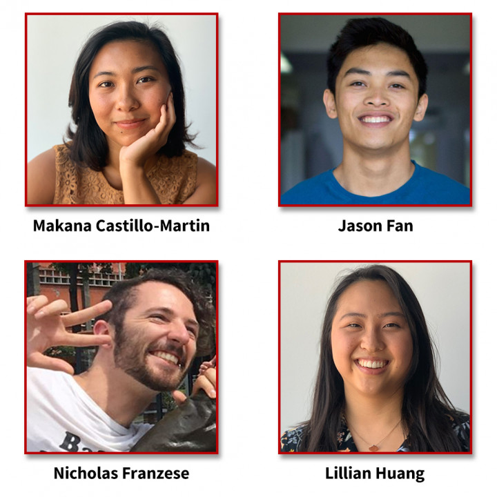 Descriptive Image for Four Graduate Students Awarded the 2020 NSF Graduate Research Fellowship