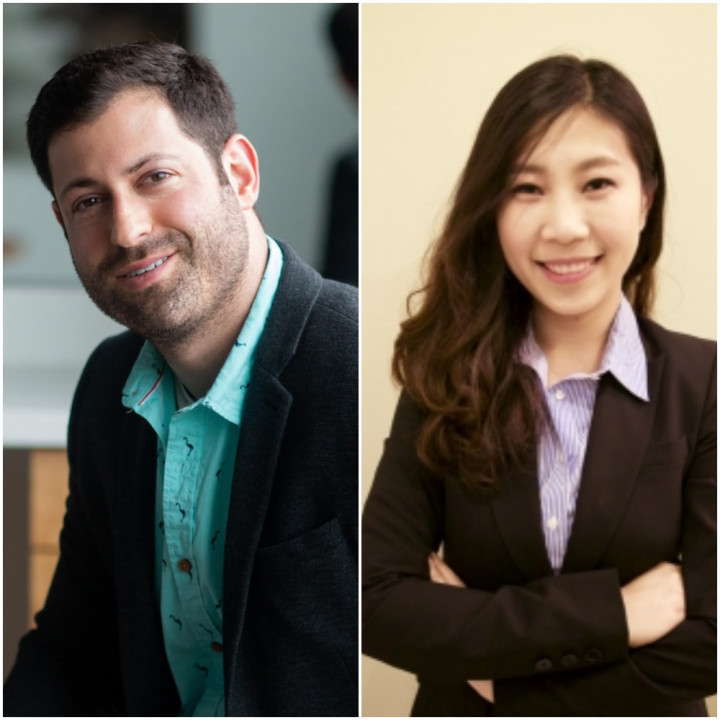 photo of Left to right- Thomas Goldstein & Furong Huang