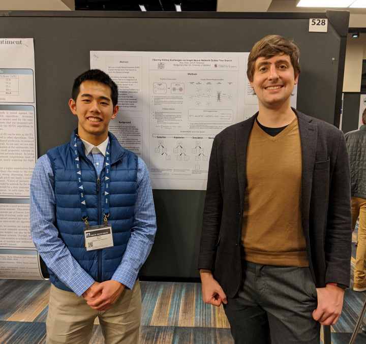Descriptive image for High School Students Advised by Computer Science Faculty Win Big at National Competitions