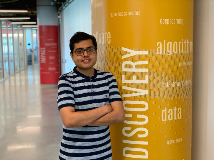 Descriptive image for Uttaran Bhattacharya Receives Adobe Research Fellowship
