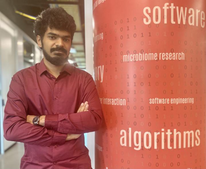 Descriptive image for Ph.D. Student Jamshed Khan Wins Outstanding Student Paper Award