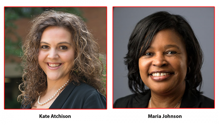Descriptive image for Kate Atchison and Maria Johnson Receive Staff Service Award for Spring 2021