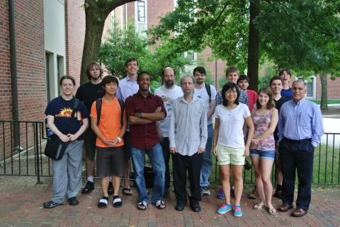 photo of 2013 CAAR REU Students