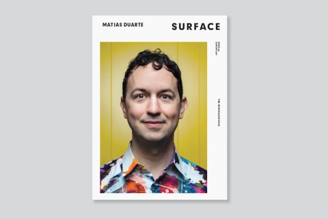 Descriptive image for Matias Duarte '96 featured in magazines on design
