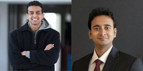Descriptive image for Mohit Iyyer and Srijan Kumar awarded Larry S. Davis Doctoral Dissertation Awards for 2017