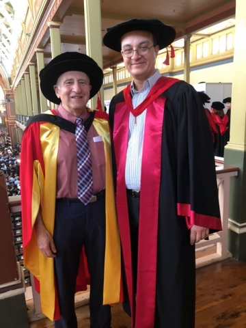 Descriptive image for Ben Shneiderman Awarded Honorary Doctorate from the University of Melbourne