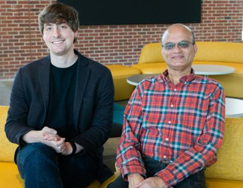 Descriptive image for Aravind Srinivasan and John Dickerson receive 2018 Google Faculty Research Awards