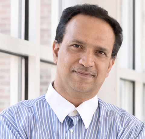 photo of Paul Chrisman Iribe Professor Dinesh Manocha