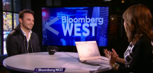 Oculus VR CEO Brendan Iribe appears on Bloomberg West