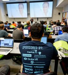 Descriptive image for Daemon Dash brings Students, Alums, and Companies together for 24 hours of Coding