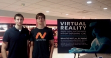 Descriptive image for Galen Stetsyuk and Mikhail Sorokin Develop and Exhibit Virtual Reality Game