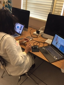 Descriptive image for NCWIT and Google fund department program for teaching young women to code