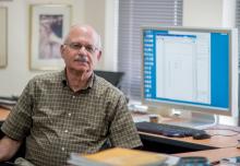 Professor Larry Davis, interim chair of Computer Science