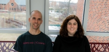 Professor Mike Hicks and Assistant Professor Michelle Mazurek