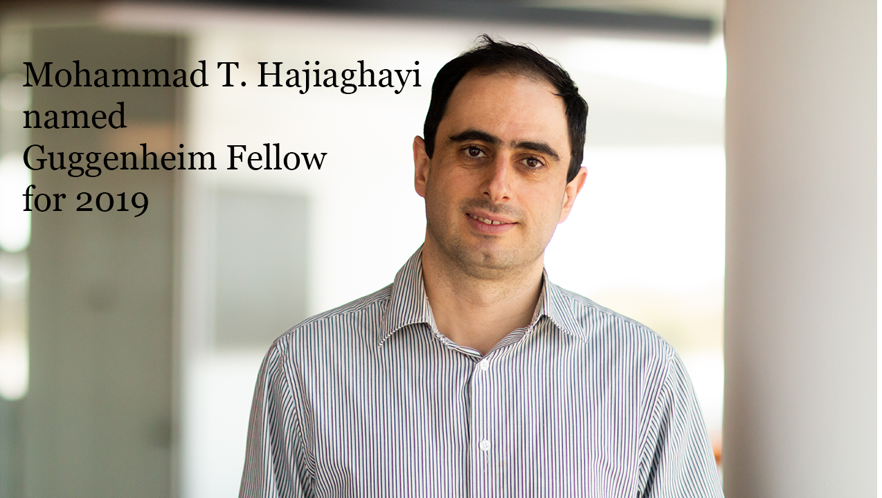 Professor Mohammad Taghi Hajiaghayi named as a Guggenheim Fellow Descriptive Image