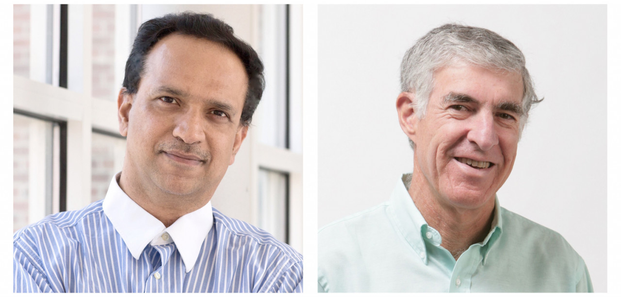 Descriptive image for Iribe Professor of Computer Science and Electrical and Computer Engineering Dinesh Manocha, and Distinguished University Professor Hanan Samet named to the 2019 SIGGRAPH Academy